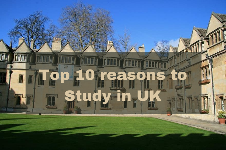 Get2Uni - Top 10 reasons to Study In UK